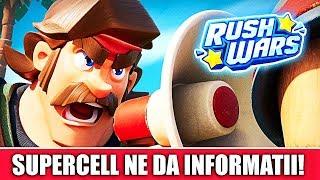 SUPERCELL NE-A SPUS CUM SE JOACĂ RUSH WARS! Informații oficiale!