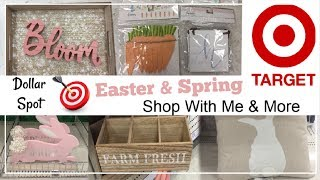 TARGET Dollar Spot Shop With Me | Spring & Easter Decor | Momma From Scratch