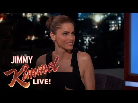 Amanda Peet's Son Has a Crush on Jimmy Kimmel's Daughter