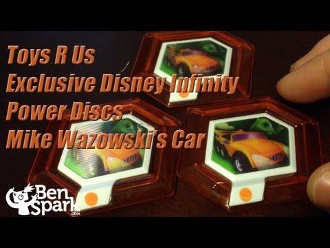 Mike Wazowski's Car Exclusive Disney Infinity Power Disc From Toys 'R Us