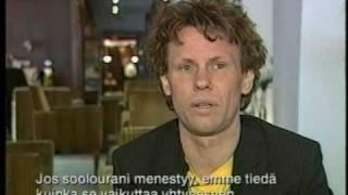 Bo Sundström (Bo Kaspers Orkester) interview by Tomi Lindblom (2005) / Finland