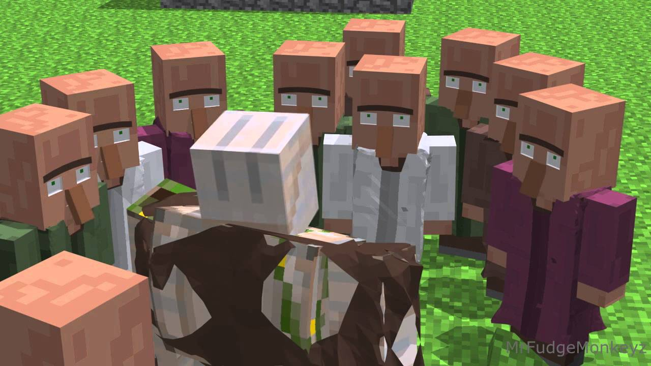 Annoying Villagers Minecraft Animation Youtube