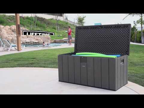 Lifetime Produktvideo Kissenbox dunkelgrau