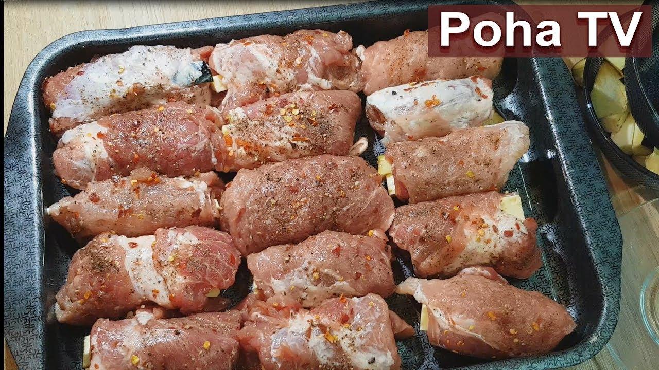 Идеальный и быстрый ужин. Мясные блюда на праздничный стол.