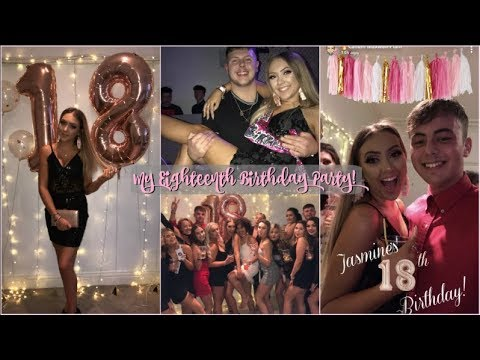 MY 18TH BIRTHDAY PARTY VLOG🔞🥂 *i got very drunk