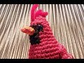 Helenmay Crochet Christmas Cardinal Bird Alternate Color Changing Technique DIY Video Tutorial
