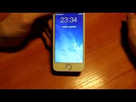 Обзор китайского Iphone 5S