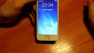 видео Айфон 5 s из китая