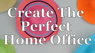 Creating a Home Office | DIY | Terri Cumming | Interior Design
