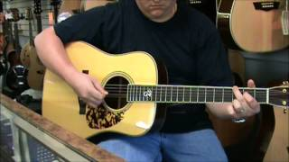 Guitar String Review - Martin Tony Rice Monel signature Strings (Part 2 of 2)