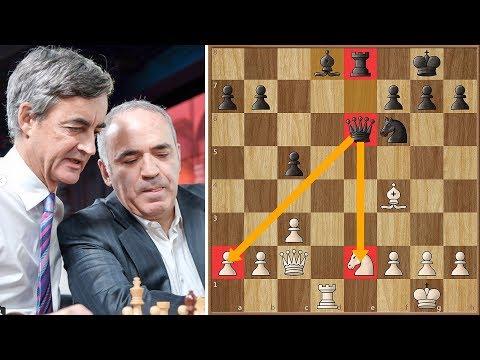 Team Carlsen vs Team Kasparov - A Showdown at Google Headquarters #probiz