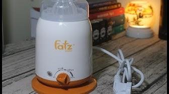 Mở hộp, đánh giá máy hâm sữa Fatz 4 chức năng