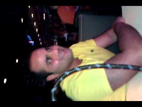 Samer's impromptu karaoke