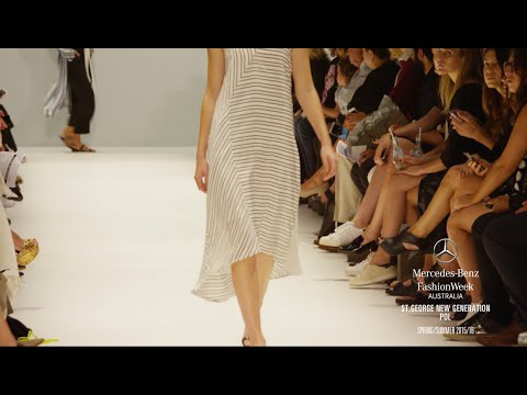 ST.GEORGE NEW GENERATION MERCEDES-BENZ FASHION WEEK AUSTRALIA SS 2016 COLLECTIONS