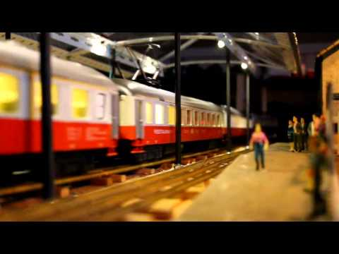 Trans Europ Express and Swiss Express Train