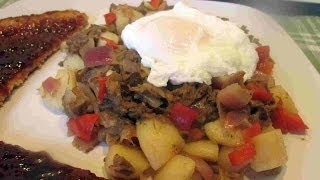 Leftover ROAST BEEF & Potato HASH Breakfast Recipe