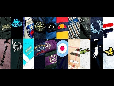 Casual Style:Les Marques Connues-Stone Island-Fred Perry-.....