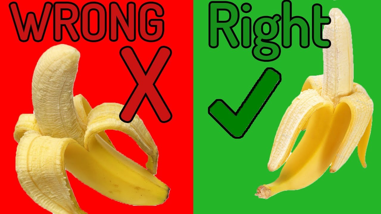 Download How to Peel a Banana (The Right and Easy Way)