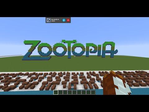 Shakira - Try Everything - Zootopia (Minecraft Noteblocks)