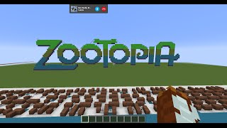 Shakira - Try Everything - Zootopia (Minecraft Noteblocks)