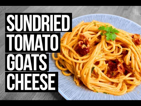 Sundried tomato goats cheese pasta by Giada De Laurentiis (LOVE HER)