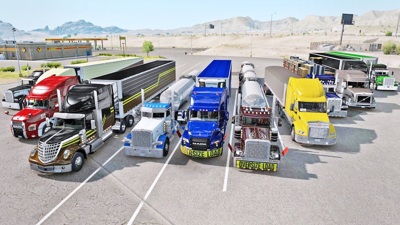Download Small Convoy on TruckersMP |  ATS