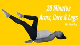 20 Minutes Arms, Core and Legs