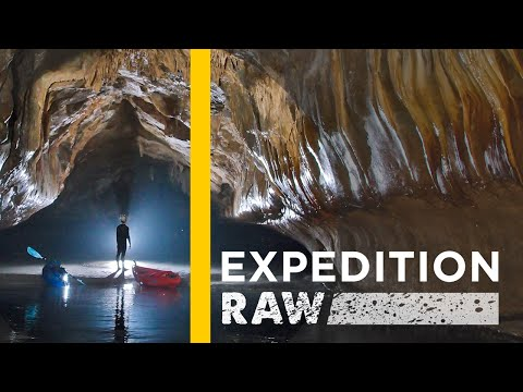 Watch: Inside the World's Longest Sea Caves | Expedition Raw