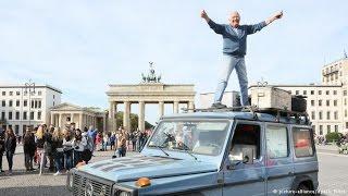 Deutsch lernen (B2/C1)   Mit dem Auto um die Welt