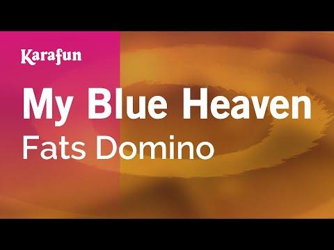 Karaoke My Blue Heaven - Fats Domino *