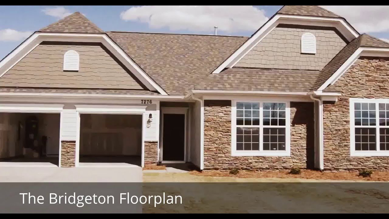 The Bridgeton- Eastwood Homes- Charlotte, NC - YouTube