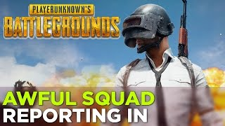 Nick, Russ, Pat, Griffin, Charlie and Justin Play PLAYERUNKNOWN'S BATTLEGROUNDS