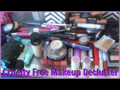Going Cruelty Free HUGE Makeup Declutter & Purge