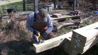How To Build A Pole Barn Pt 3 - Setting Posts