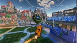 Rocket League insane air drag!