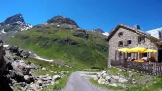 Mathon bei Ischgl, Galtür Jamtalhütte Lareinalm 2015 MTB 4K