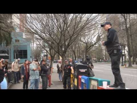 The International Day Against Police Brutality Protest March in Portland Oregon 3.15.14 by FTP
