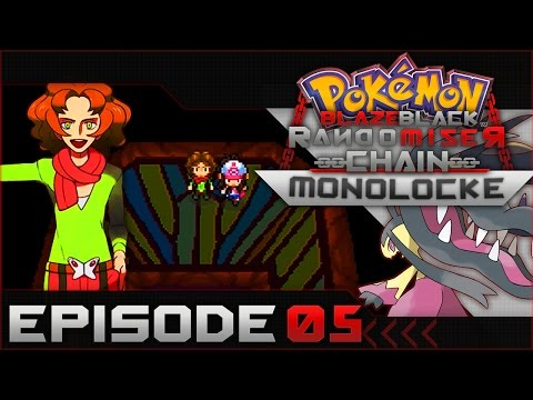 "Pokemon Blaze Black Random Chain-Monolocke |#05| ""F#*K Lazy Landon!"""