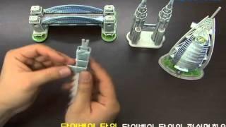 세계 유명 미니 건축물 시리즈 3 - 아시아/대양주 Mini Architecture
