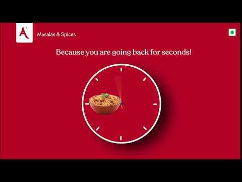 Biryani O Clock   Annapoorna Masalas & Spices