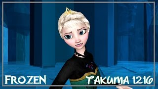 [MMD Frozen] Let It Go Hair Up Original motion