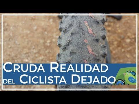 Cruda realidad del ciclista dejado pinchazos averías