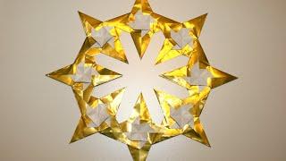 Origami - Couronne D'étoiles Par Yuri Shumakov
