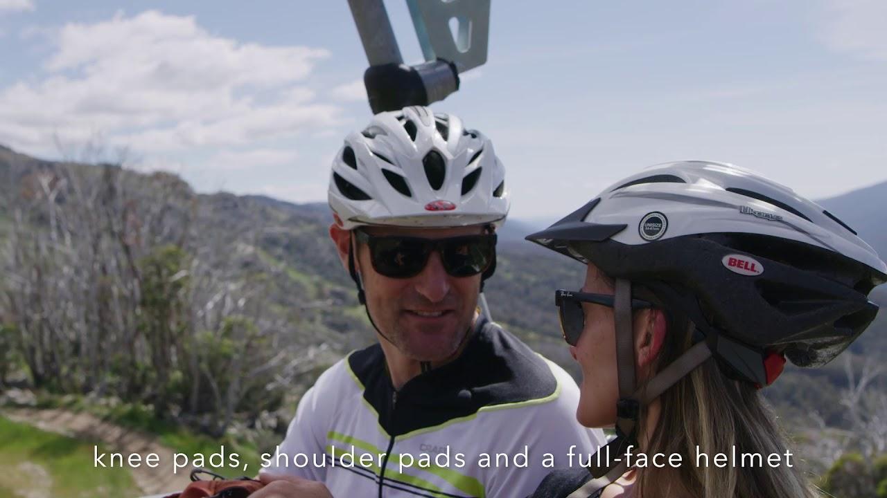 Family Mountain Biking in Thredbo