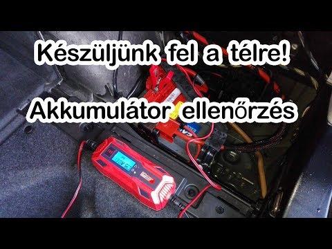 Akkumulátor töltő indításrásegítő lidl
