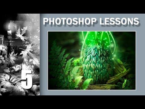 5. Photoshop постобработка. Драконья магия