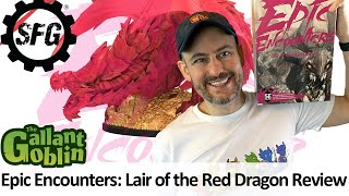 Epic Encounters: Lair of the Red Dragon Review - Steamforged Games