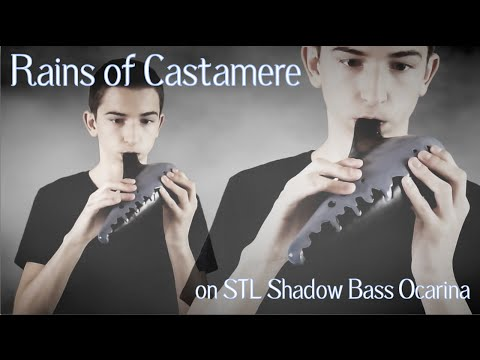 Rains of Castamere (Game of Thrones) || Ocarina Cover – STL Shadow Bass Ocarina