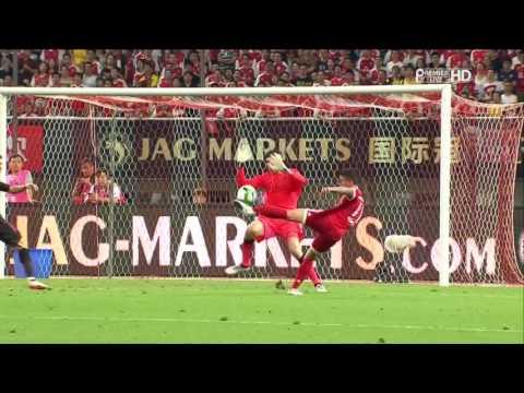 Malaga Champions League Semi Final Team