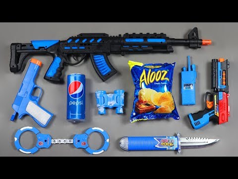 Many Colors Toys Foam Potato Chips Pepsi Can Toy from the Box - Realistic Toy Guns Toys Equipment